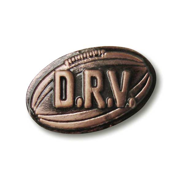 "Pin ""DRV OFFICIAL"" (Kupfer)"